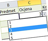 Dropdown excel 2010